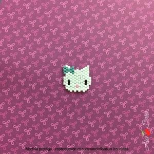 Kit créatif brick stitch «Animignons – Chat»