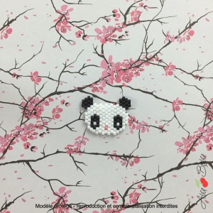 Kit créatif brick stitch «Animignons – Panda»