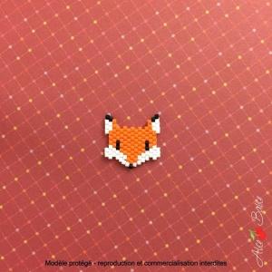 Kit créatif brick stitch «Animignons – Renard»