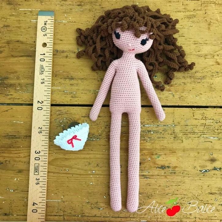 alice balice | poupée en crochet | doll | amigurumi | tutoriel | tutorial