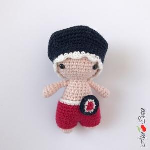 Tutoriel crochet : P'tit Pouce patriote