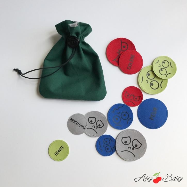 alice balice | mange problèmes | avale soucis | couture | sewing | patron | tutorial | tutoriel | gestion des émotions | outil pédagogique