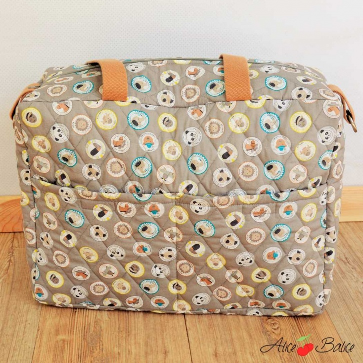 alice balice | sac à langer fétiche | tutoriel couture gratuit | patron couture | puériculture | bébé | cadeau | trousseau de naissance | sewing