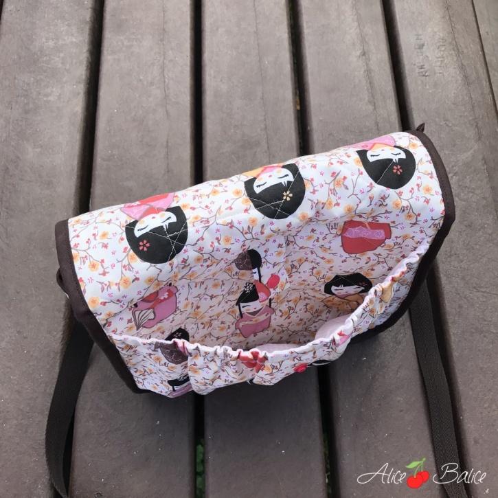 alice balice | sac à puce | sac de gouter | sac à biberon | sac de crèche | sac de danse | sac d'écolier | tutoriel | patron couture | sewing