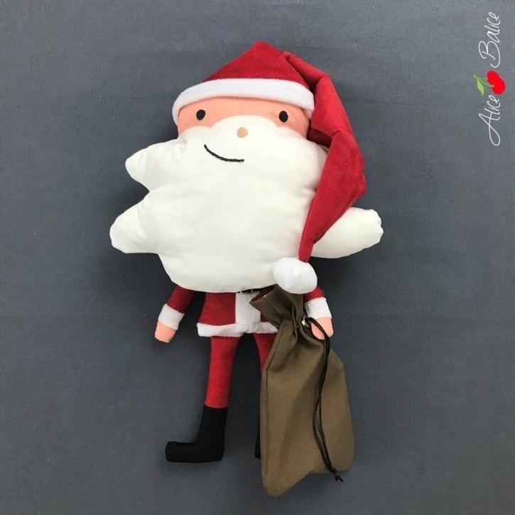 alice balice | tutoriel couture | Père Nono | Père Noël | Santa Claus | Christmas | Calendrier de l'Avent | décoration