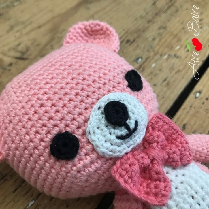 alice balice | tutoriel crochet | pattern | amigurumi | Tromignon | tutoriel
