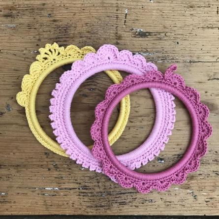 alice balice | crochet | cadre | déco | tuto | tutoriel | tutorial