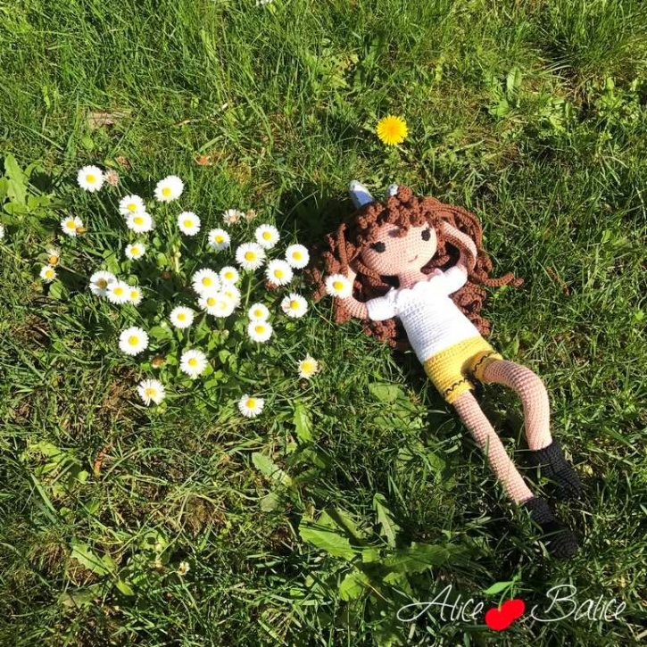 alice balice | poupée en crochet | doll | amigurumi | tutoriel | tutorial | lapin | rabbit