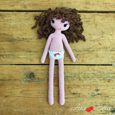 alice balice | poupée en crochet | doll | amigurumi | tutoriel | tutorial