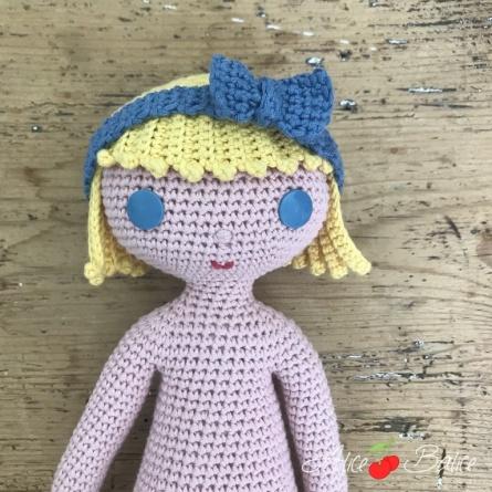 alice balice | poupée en crochet | doll | amigurumi | tutoriel | tutorial | clems | coupe au carré | débutantes
