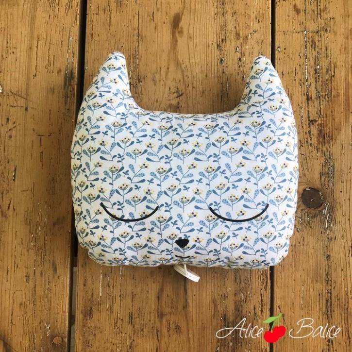 alice balice | tutoriel couture | béé enfant | doudou musical chat | cadeau de naissance | trousseau de naissance | nuit | niveau débutant